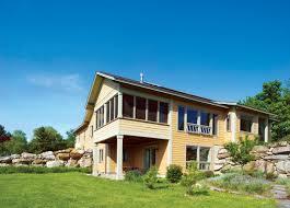 Passive Solar Design  Creating Sun Inspired Homes   Green Homes    Vermont Passive Solar House