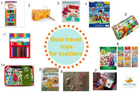 Best Travel Toys: A Guide To The Baby And Toddler Toys 2019