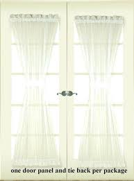 curtains for door beautiful glass door blind and decor white door panel curtains in perfect installation curtains for door