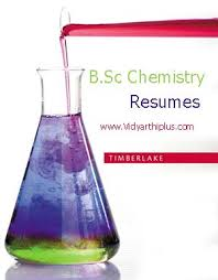B Sc Chemistry Resume Format And Samples
