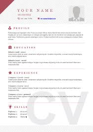 Download Curriculum Vitae Cv Resume Templates - It Classes Online