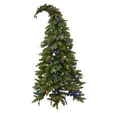 D4 5-ft Pre-Lit Theodor Whimsical Christmas Tree ...