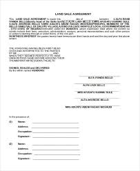 Sale Agreement Forms Free 9 Sample Sales Agreement Forms In Pdf Doc
