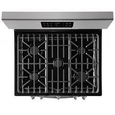 frigidaire gallery 30 free standing gas range finger resistant stainless