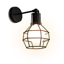 Wall Mounted Light Fixture Mega Sale 2270 Industrial Wall Light Black Wire Cage Wall