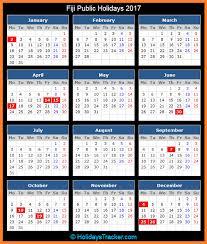 fiji public holidays 2017 holidays