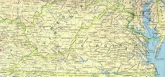 map of virginia a source for all kinds of maps of virginia