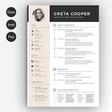 Resume Template Creative Red Circle Creative Resume Cv Template
