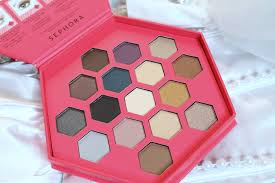 review swatches sephora collection the graceful eyeshadow palette