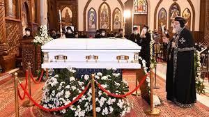 خرابيش نيوز- البابا تواضروس يترأس صلوات تجنيز الأنبا كاراس أسقف المحلة با -  خرابيش نيوز