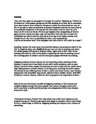 persuasive writing why do people smoke gcse english marked  page 1 zoom in