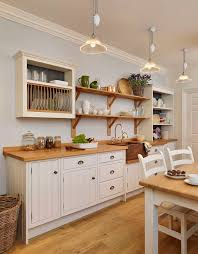 cottage kitchen furniture. english cottage kitchen rustic painted white with a copper sink furniture t