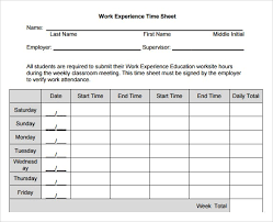 Sample Employee Timesheet Calculator Free Excel Time Card