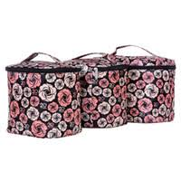 polyester bag zipper whole small portable portable makeup bag las large capacity cosmetic case waterproof cosmetic