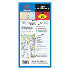 Upper Chesapeake Bay Chart Maptech Wpc025 04 Upper Chesapeake Bay Waterproof Chart