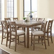 Timmins <b>9 Piece Solid</b> Wood Dining Set & Reviews | Birch Lane