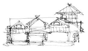 Modern home architecture sketches Modern Church Gallery Of Decor Architecture Houses Sketch And Modern House Sketch Stock Photos Modern House Sketch Stock S37co Decor Architecture Houses Sketch And Modern House Sketch Stock