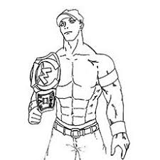 Small Picture John Cena Vs Rey Mysterio In WWE Coloring Pages Sports Coloring