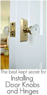 Replacing Old Door Knobs and Hinges - The Best Kept Secret | Blogger ...