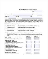 Employee Evaluation Form