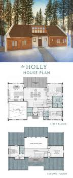 The Holly House is a 4 bedroom transitional house plan with an open floor  plan,