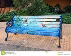 Painted Bench  Ritau0027s Art  Pinterest  Painted Benches Bench Hand Painted Benches