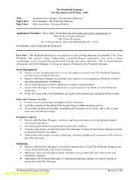 Lovely Retail Store Manager Resume Objective Business Document