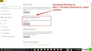 How To Downgrade Windows 10 To Windows 7 Windows 8 Or 8 1 Miapple Me