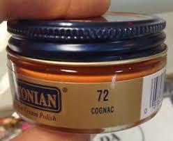 Details About 1 Jar Cognac Color 72 Boot Shoe Cream Polish Conditioner Leather Meltonian 72