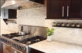 modern kitchen stone backsplash.  Kitchen Modern Kitchen Stone Backsplash Hotelpicodaurze Designs With G