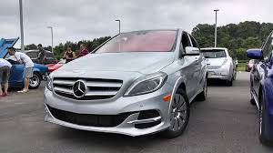 new car releases in usaMercedesBenz BClass Electric Drive Launches In US Today