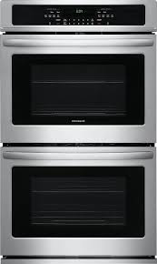 27 inch gas wall oven stainless steel front view 27 inch single gas wall oven