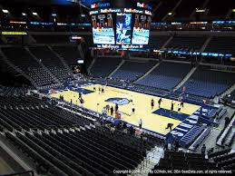 Fedexforum Seat Views Section By Section