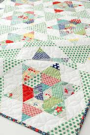 Terrific Traditions: Equilateral Triangle Quilts & Starlight Quilt Pattern Adamdwight.com