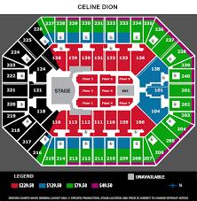 Target Center Minneapolis Mn Seating Chart Celine Dion Target Center