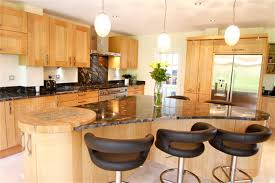 magnificent kitchens with islands. Terrific Kitchen Island Stool For Decoration : Fabulous Design With Birch Wood Magnificent Kitchens Islands R