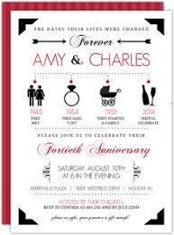 40th Anniversary Invitations Under Fontanacountryinn Com