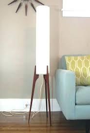 mid century floor lamp floor lamp image of teak tripod leg mid century modern mid century
