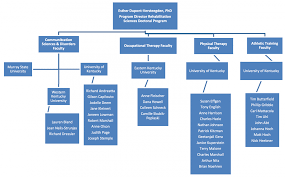 Organizational Chart University Of Kentucky College Of