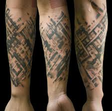 тату абстракции стиль абстракционизм в татуировке
