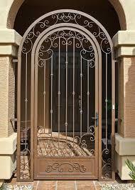 Excellent Iron Front Door Gates Photos - Ideas house design ...
