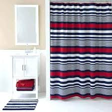 rugby stripe curtains luxury blue and white striped shower curtain red luxur