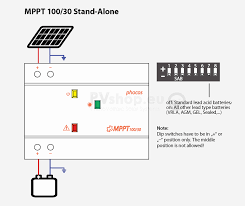 pv solar system diagrams diagram of phocos mppt 100 30 pv solar charge controller for 12 24v systems