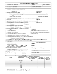Navy Travel Advance Request Pdf Form Fill Out And Sign