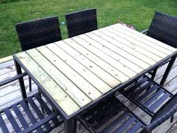 replacement glass for patio table patio table replacement glass patio table using fence boards great solution replacement glass for patio table