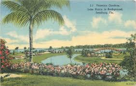 Venetian Gardens Leesburg Christmas Lights Leesburg Florida Venetian Gardens Lake Harris Bridge 1938