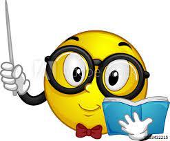 Mascot Smiley Teacher Illustration vector de Stock | Adobe Stock