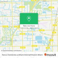 A continuación les mostramos las oficinas y horarios del banco davivienda, para que ubique la más cercana Como Llegar A Banco Davivienda Sa Miami Internatl Branch En Fort Lauderdale En Autobus Moovit