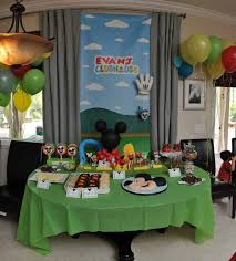 mickey mouse clubhouse party food