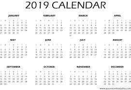 Calendar Template 2019 Search Result 24 Cliparts For Calendar